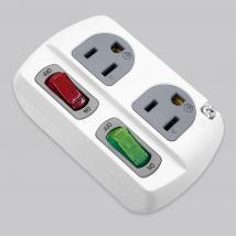 高負載分接式插座-2*2P 電腦壁插
